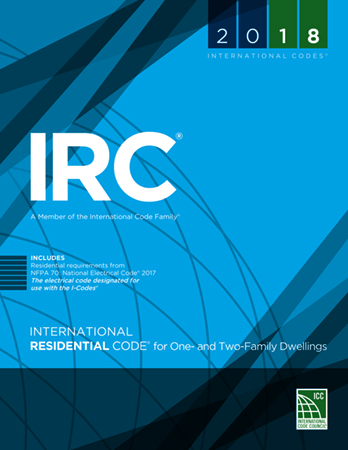 International Residential Code Book Cover